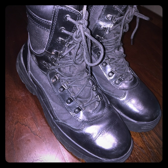 "2784e74794e Rocky Men's Fort Hood 8"" Waterproof Boots SZ12"